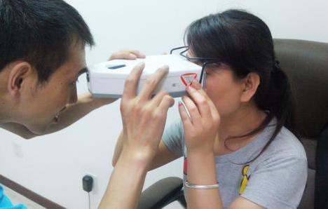 专业瞳距尺的使用和瞳距仪的使用
